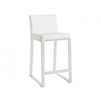 Architect Counter Stool - White