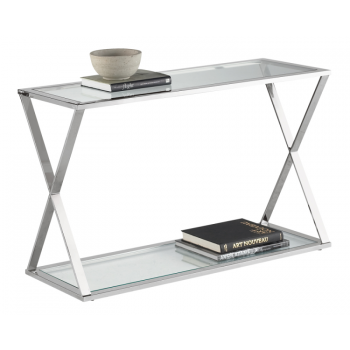 Gotham Console Table   Stainless Steel | Cabinet | At Hom