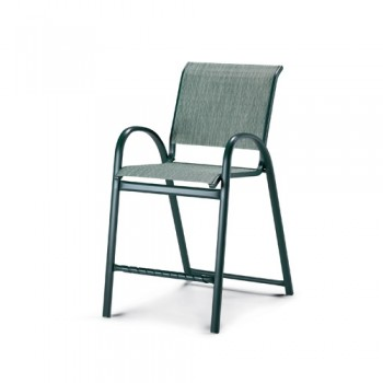 Aruba Sling Stacking Counter Height Cafe Chair