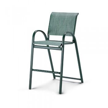 Aruba Sling Stacking Bar Height Cafe Chair