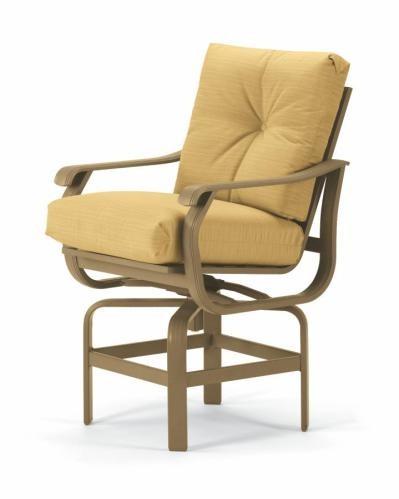 Villa Cushion Counter Height Swivel Chair