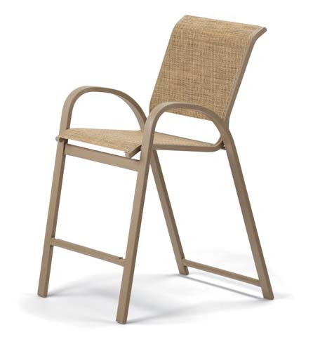 Counter Height Stacking Cafe Chair