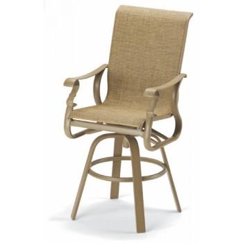 Savona Elite Sling Bar Height Swivel Chair