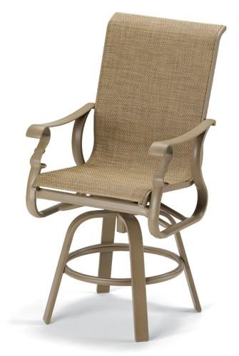 Savona Elite Sling Counter Height Swivel Chair