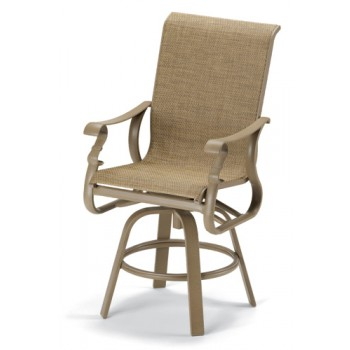 Savona Elite Sling Counter Height Swivel Chair