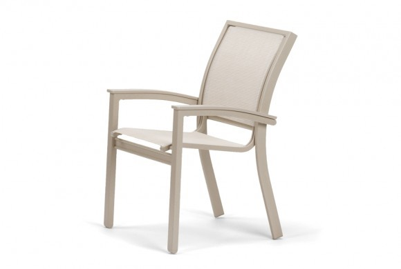 Stacking Cafe Chair w/MGP Desert Accents