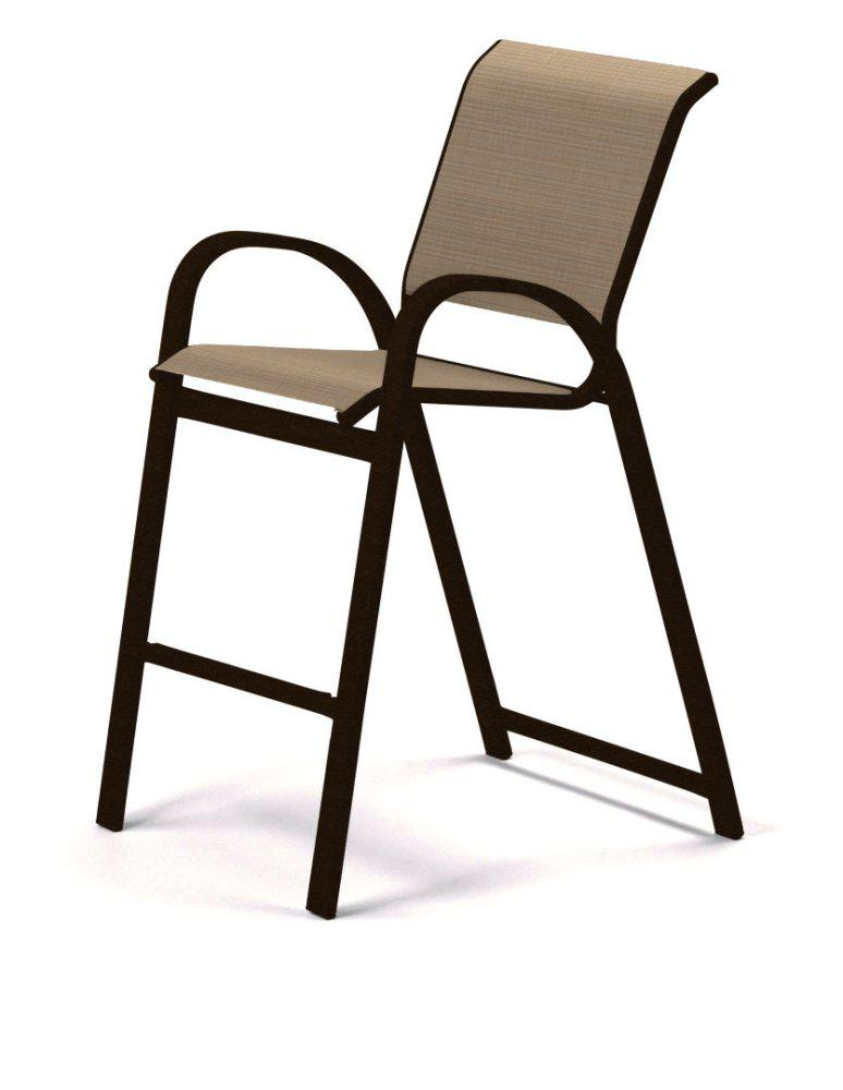 TELESCOPE CASUAL FURNITURE Bar Height Stacking Cafe Chair
