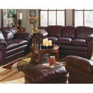 Argenta Leather Living Room Group