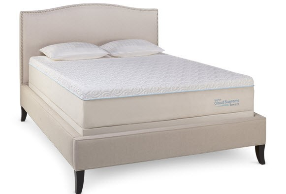 TEMPUR-PEDIC TEMPUR-Cloud Collection - TEMPUR-Cloud Supreme Breeze - Cal King