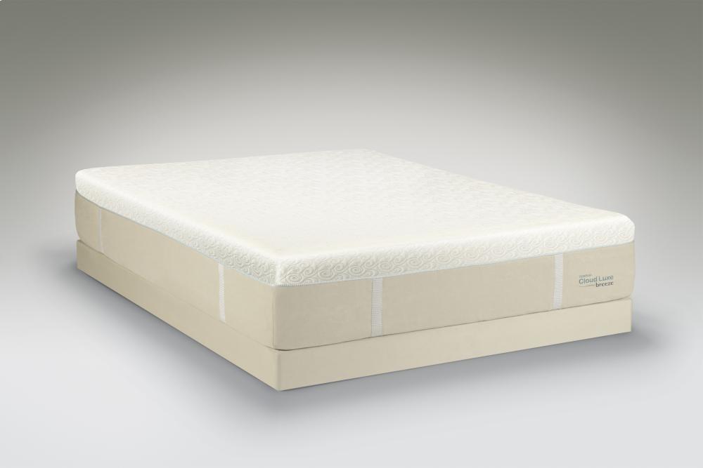 Tempur Pedic Cloud Collection Luxe Breeze Twin Xl Tempurpedictempurcloudluxebreezetwinxl Tight Top Mattresses Sleep Masters
