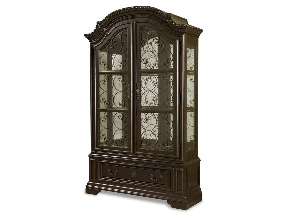 Valencia Display Cabinet - Valencia Display Cabinet Curio Cabinets Whit-Ash Furnishings, Inc