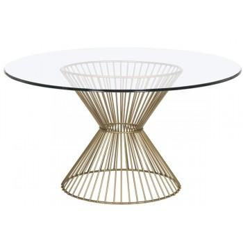P766B-PB Haworth Dining Table Base