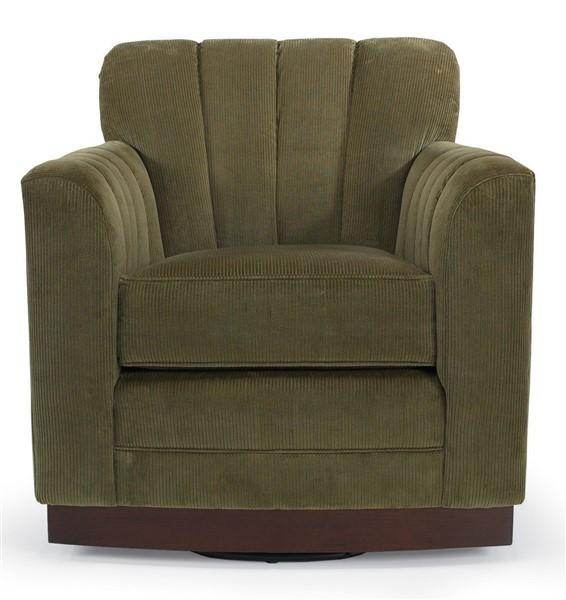W132-SCH Paris Swivel Channel Back Chair