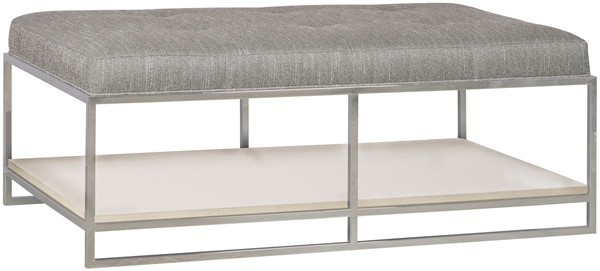 W382C-OT Willoughby Metal Frame Cocktail Ottoman