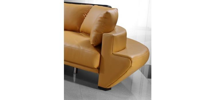 Wondrous Divani Casa Jupiter Contemporary Leather Sectional Sofa Alphanode Cool Chair Designs And Ideas Alphanodeonline
