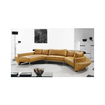 Cool Divani Casa Jupiter Contemporary Leather Sectional Sofa Alphanode Cool Chair Designs And Ideas Alphanodeonline