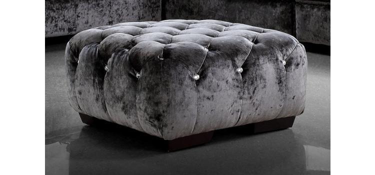 Black Fabric Sofa Divani Casa Sectional Las Vegas