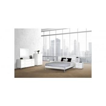 Modrest Bravo Modern White Mirror