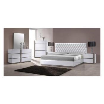 Modrest Vero - Modern White Tufted Bedroom Set | VGKBVERO | Bedroom ...