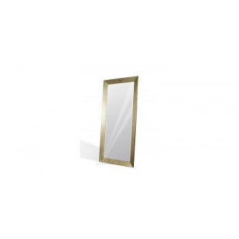 A&X Regal - Modern Champagne Crocodile Floor Mirror
