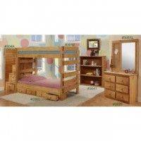Twin Stackable Bunk Bed