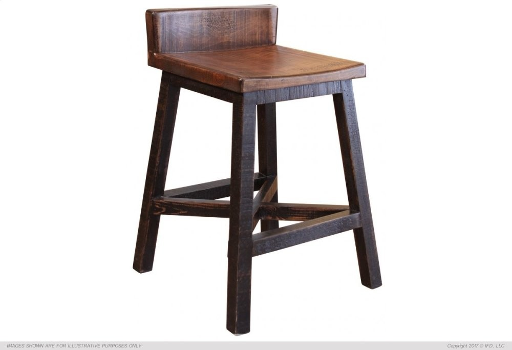 Miraculous 30 Stool With Wooden Seat Base Black Finish Caraccident5 Cool Chair Designs And Ideas Caraccident5Info