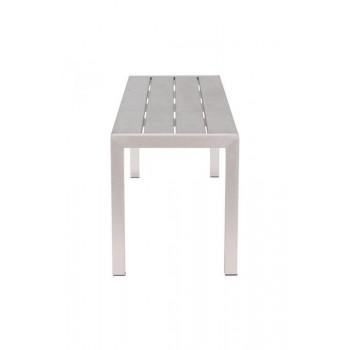 ZUO MODERN Metropolitan, Brushed Aluminum