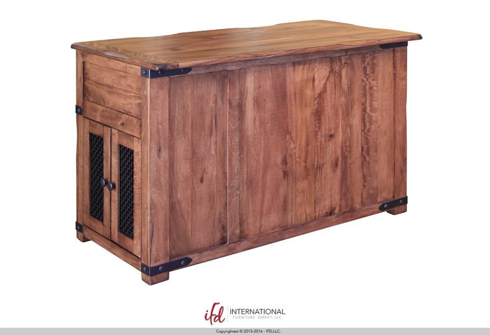 3 Drawer Kitchen Island W 2 Sliding Doors 2 Mesh Doors On