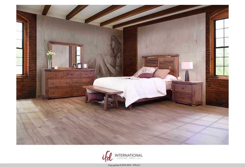 Breakfast & Bedroom Bench All wood, w/Shelf - KD System ...