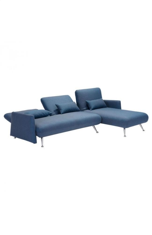 Outstanding Zuo Modern Bizard Cowboy Blue Sleeper Sofa At Hom Camellatalisay Diy Chair Ideas Camellatalisaycom