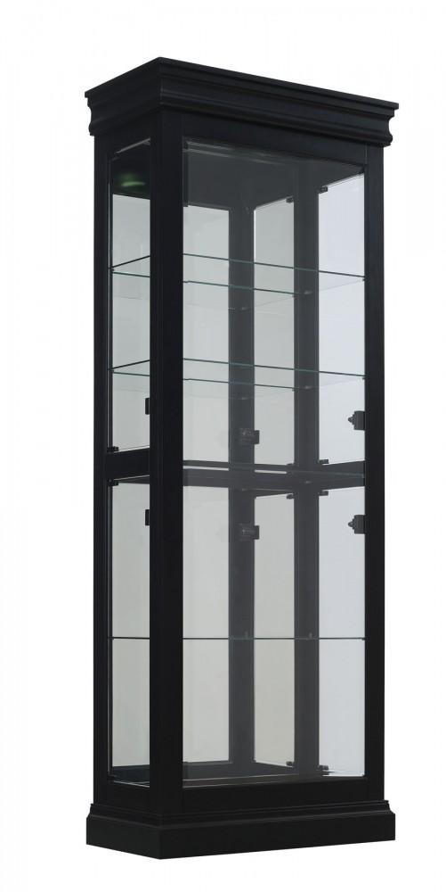 Louis Black Curio Cabinet