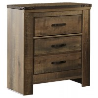 Trinell - Brown - Two Drawer Night Stand