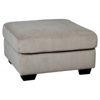 Dailey - Alloy - Oversized Accent Ottoman