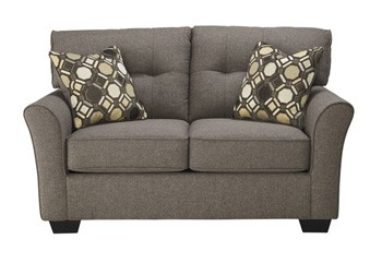 tibbee slate loveseat 9910135 love seats furniture markdowns