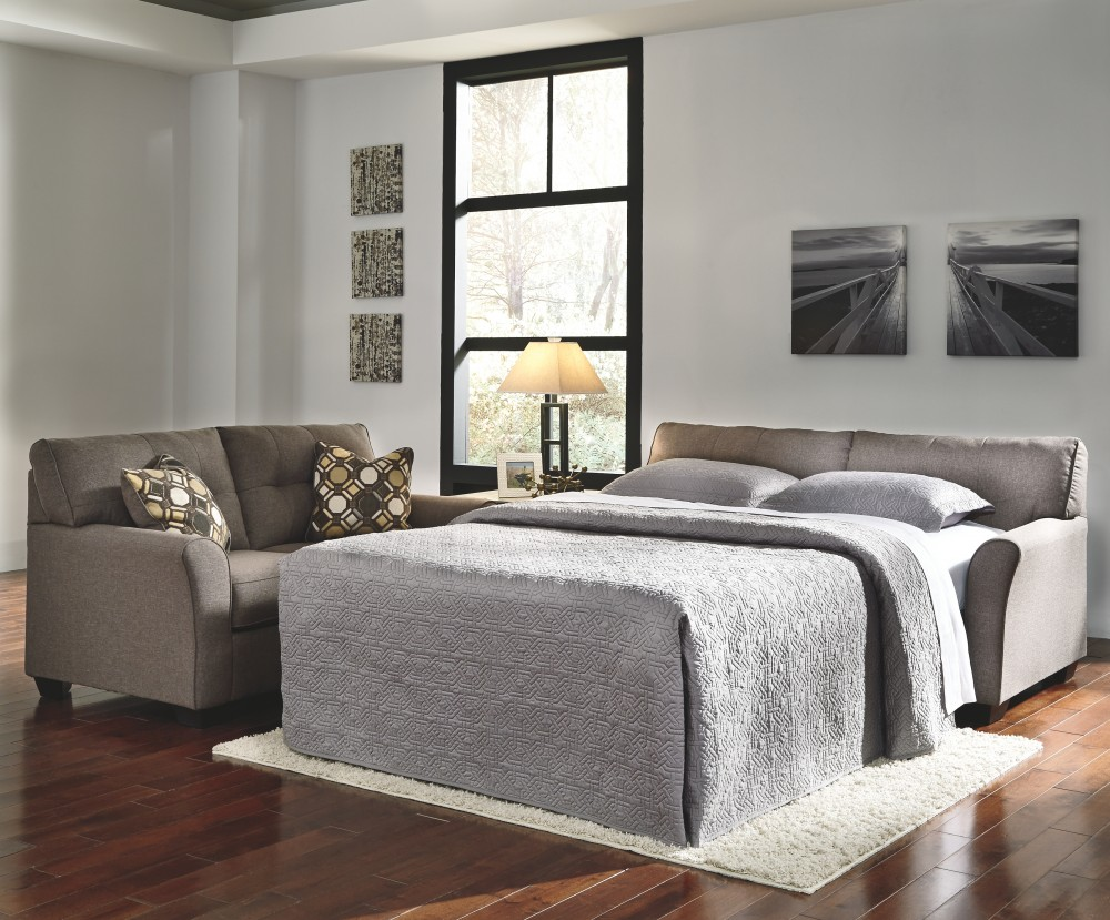 Tibbee - Slate - Full Sofa Sleeper   9910136   Sleeper Sofa ...