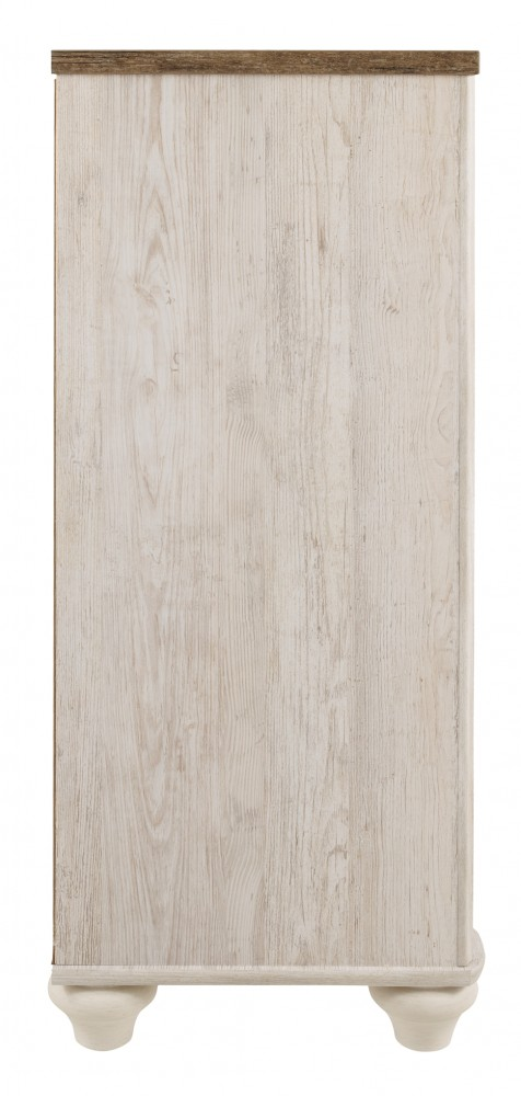 white wash dresser. Willowton White Wash Dresser