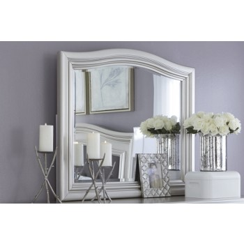 Coralayne - Silver - Bedroom Mirror