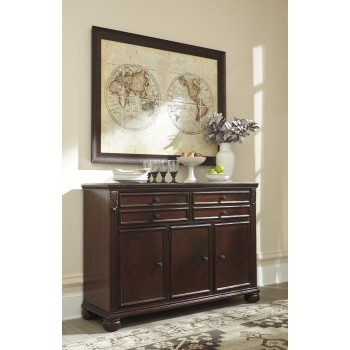 Leahlyn - Reddish Brown - Dining Room Buffet
