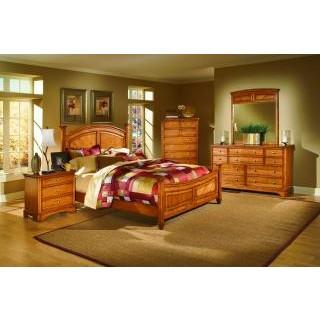 Laurel Heights Bedroom Collection Oak
