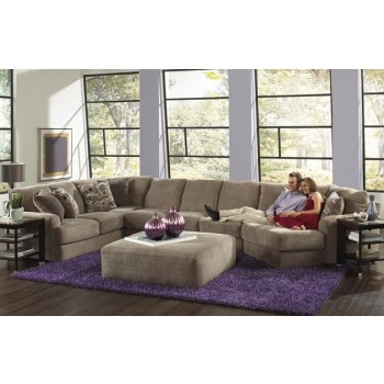 Jackson Furniture Malibu 3 Pc. Sectional with Ottoman