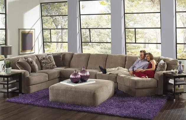 Jackson Furniture Malibu 3 Pc. Sectional with Ottoman