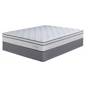 Longs Peak Ltd - White - King Mattress