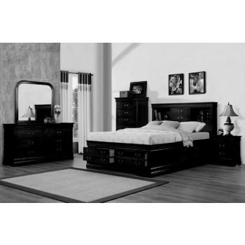 328 Renaissance Black Storage Bedroom Collection