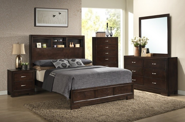 4233 City Loft Bedroom Collection