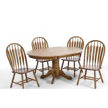 Threshers Oak Dining Table Medium: 42x60