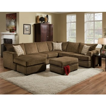6800 Haden 3 Pc Reversible Chaise Sectional 6800 Haden Sectionals Kronheims Furniture