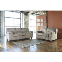 Dailey - Alloy - Sofa & Loveseat