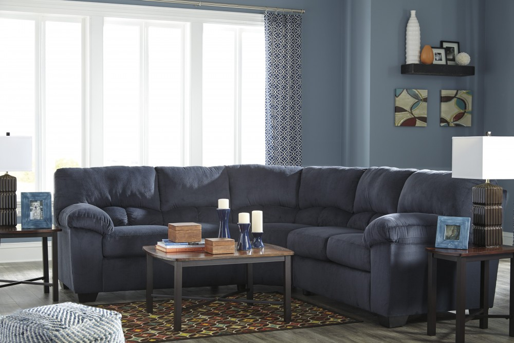Dailey - Midnight 2 Pc. Sectional
