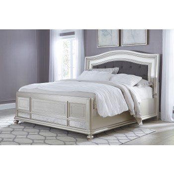 Coralayne King UPH Panel Bed