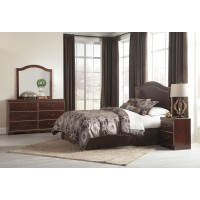 Chanlyn - Reddish Brown - Bedroom Mirror